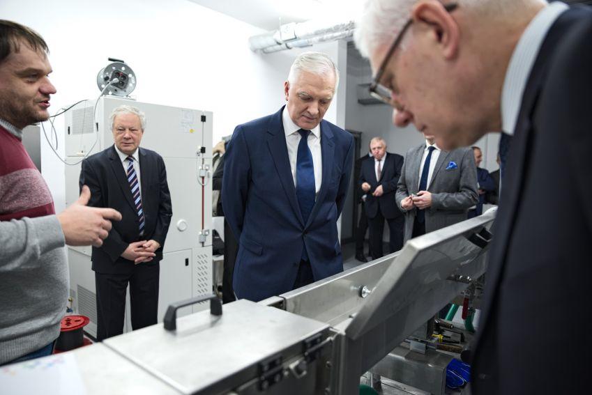 Wizyta wicepremiera Jarosława Gowina - utworzenie Związku...