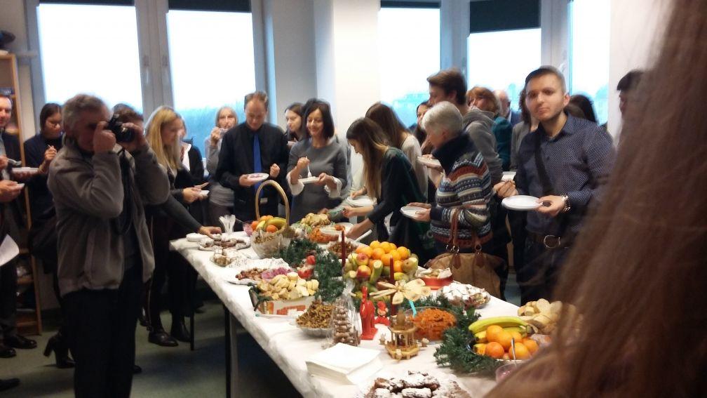 Spotkanie wigilijne (19 grudnia 2017)
