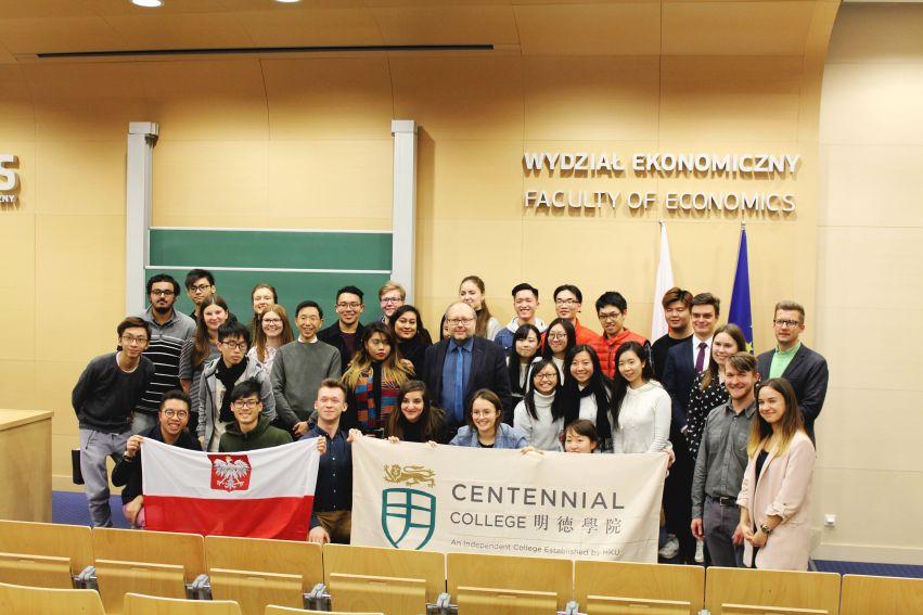 Wizyta studentów z Hongkongu