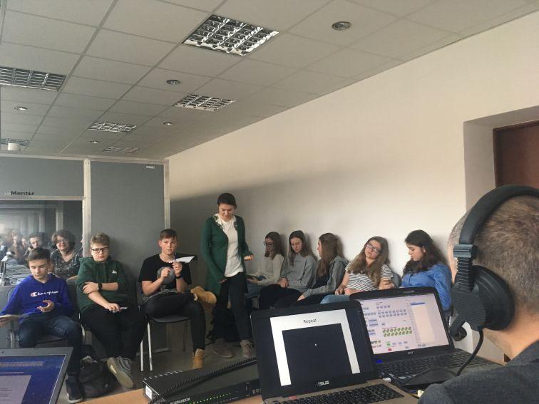 Warsztaty dla akademickiej klasy językowej