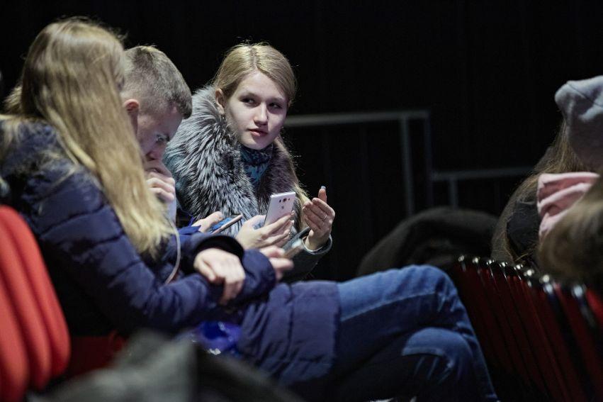 Spotkanie z młodzieżą ukraińską