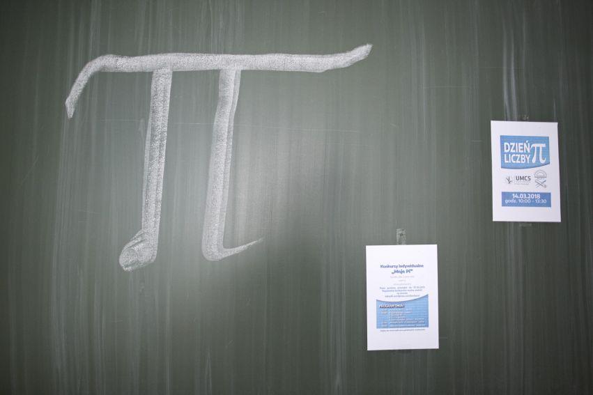 Dzień liczby Pi na UMCS