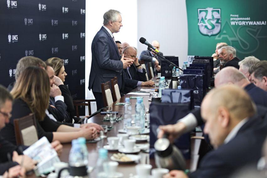 Spotkanie z mecenasami sportu akademickiego
