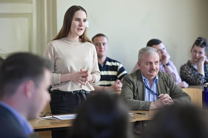 II Debata Oksfordzka na Wydziale Politologii
