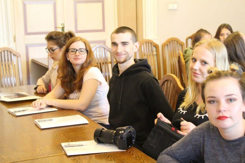 Warsztaty dla uczniów ze szkoły w Pionkach