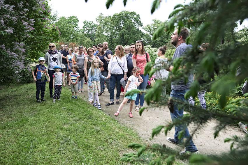 Majówka w Ogrodzie Botanicznym UMCS