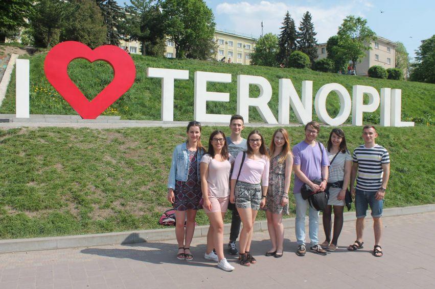 Studenci WE w Tarnopolu