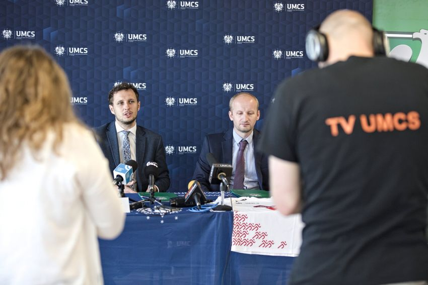 "Briefing prasowy ""UMCS biega"""