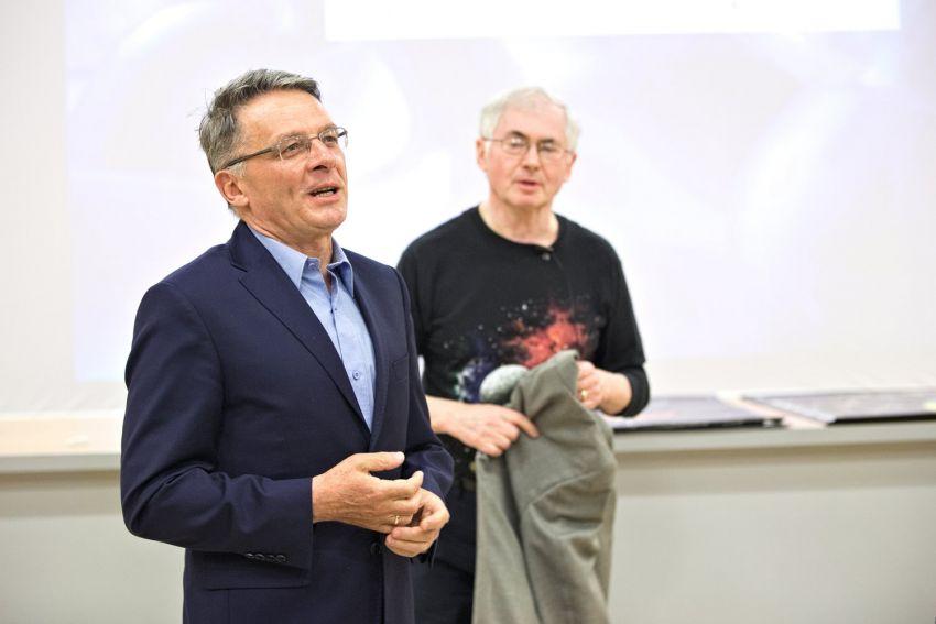 """Wykład prof. Musielaka """"Tajemnice Wszechświata"""""""