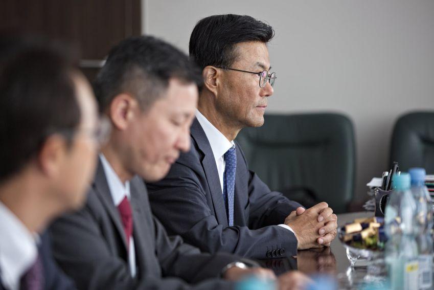 Spotkanie z ambasadorem Korei Południowej