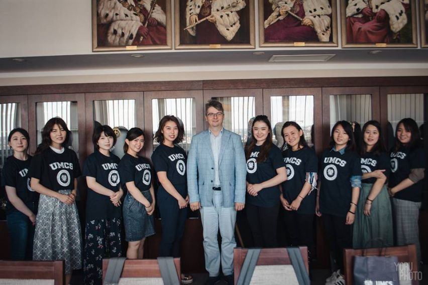 Goście z Kobe College u anglistów z UMCS