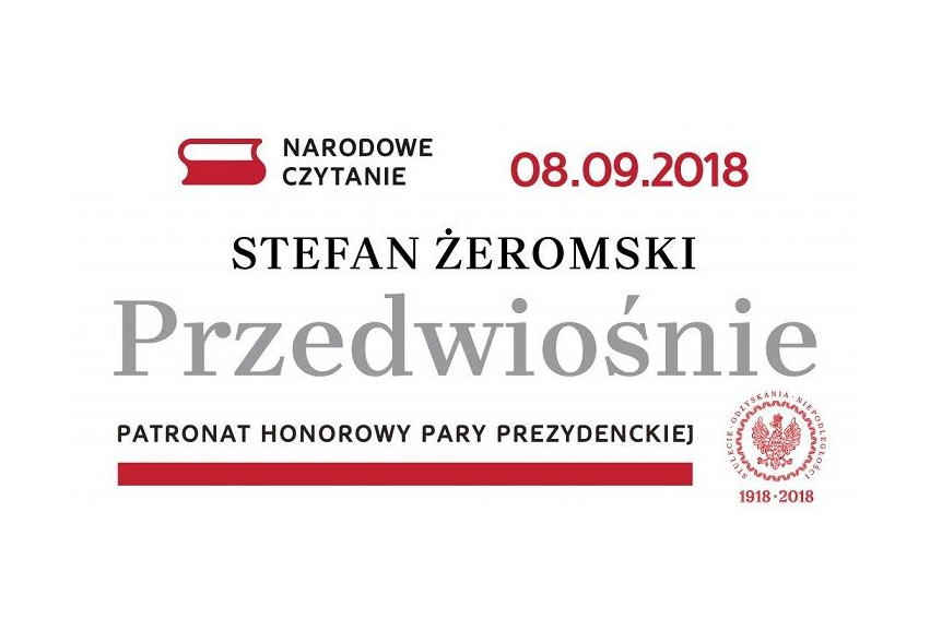 Narodowe Czytanie 2018 w Dworku Kościuszków