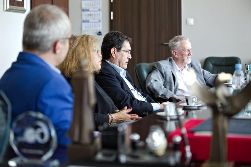 Spotkanie z delegacją z Hiszpanii