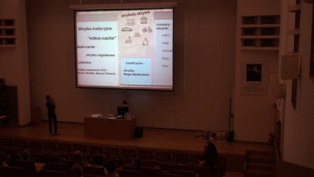 Grafika 3D i geocaching - historycy na LFN 2018