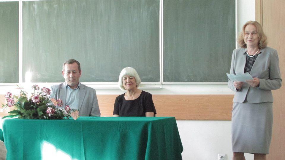Odsłonięcie tablicy poświęconej Prof. T. Skubalance