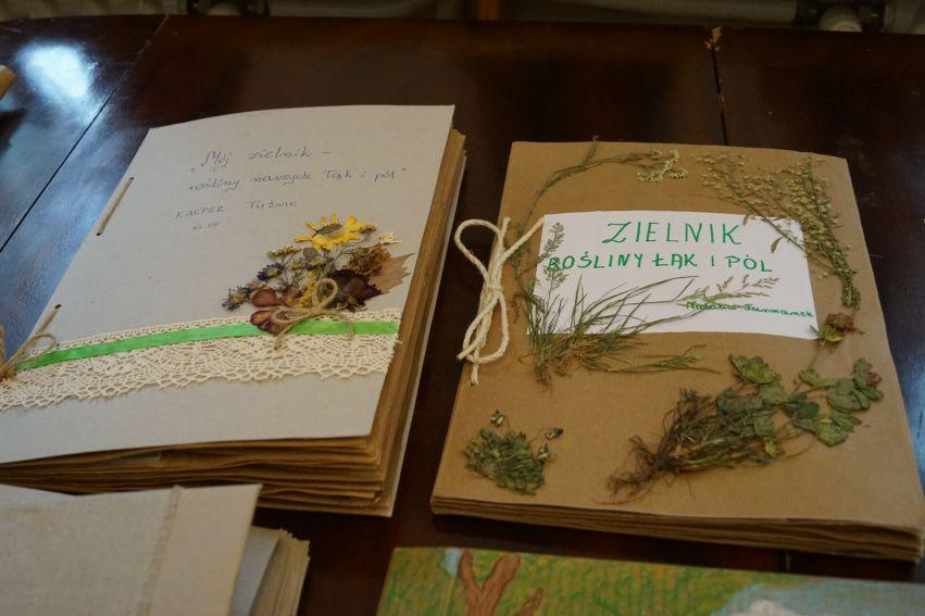 """Wręczenie nagród w Konkursie """"Mój zielnik - rośliny..."""