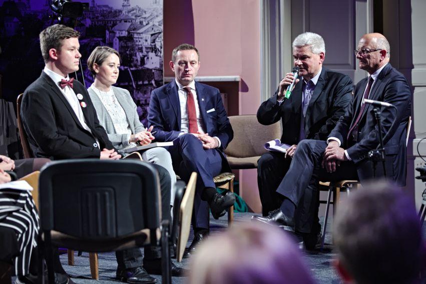 "Salon POLITYKI ""Następne 100 lat. Lublin, Polska,..."