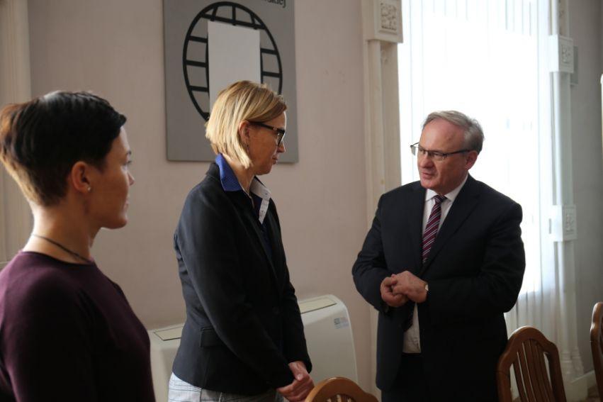 Spotkanie z prof. Pavlíną Springerovą.
