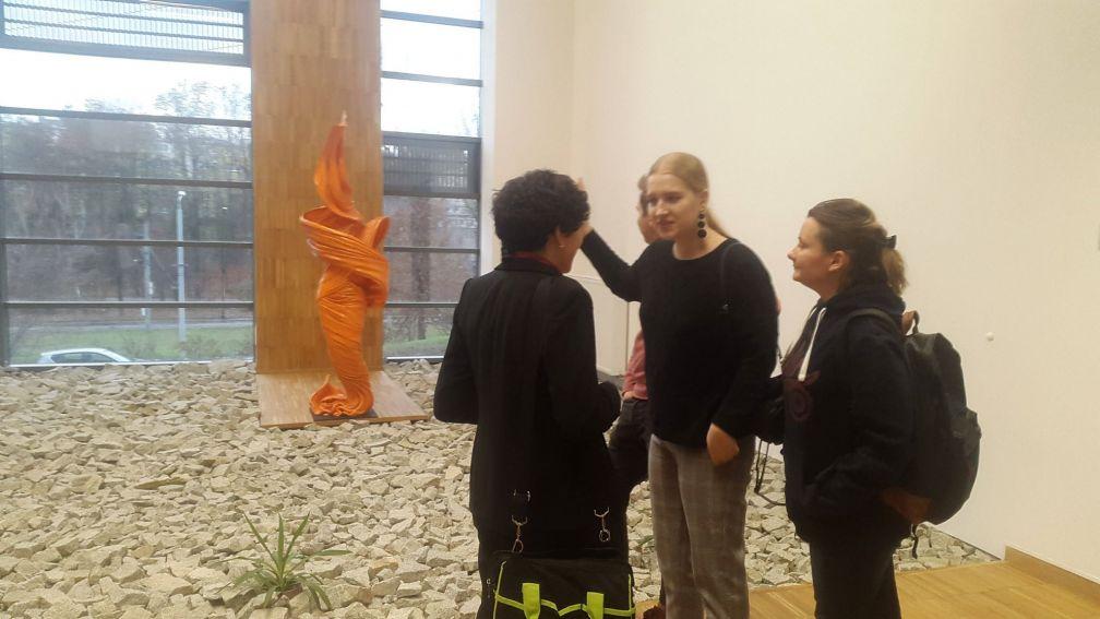 Rzeźby w Ecotech-Complex