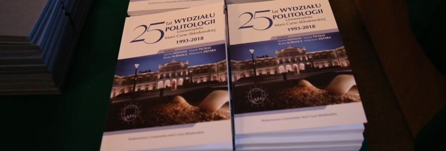 25 lat Wydziału Politologii - fotorelacja.