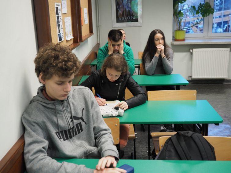 Warsztaty w Liceum Ogólnokształcącym im. Kazimierza...