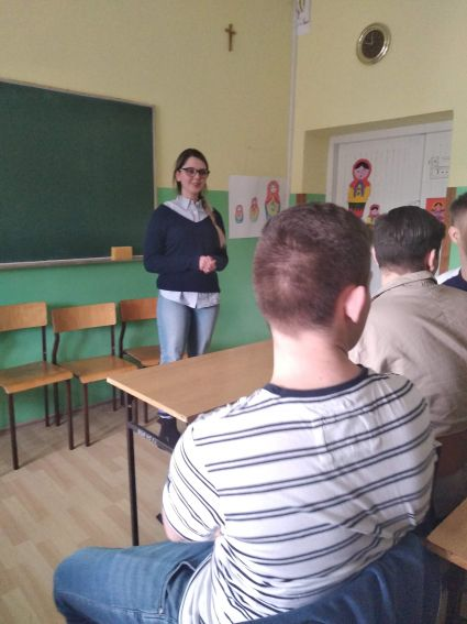 Warsztaty z języka rosyjskiego i niemieckiego w I i II LO...