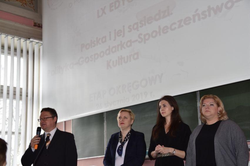 Olimpiada Wiedzy o Polsce i Świecie Współczesnym – etap...