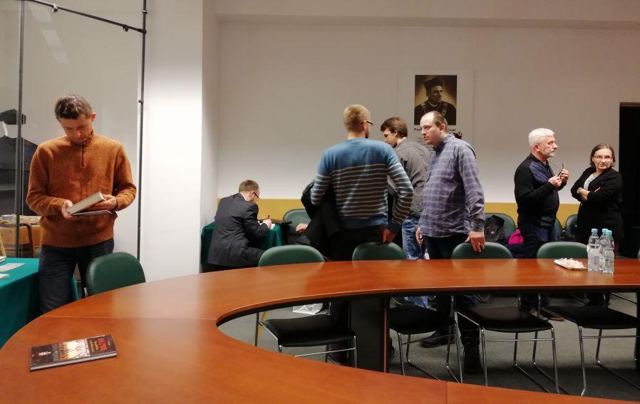 Spotkanie autorskie z dr. Łukaszem Bajdą