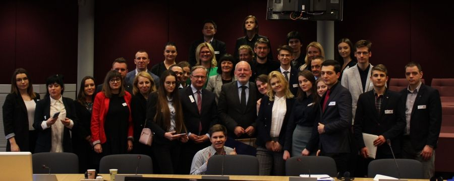 Wizyta studyjna w instytucjach Unii Europejskiej w Brukseli