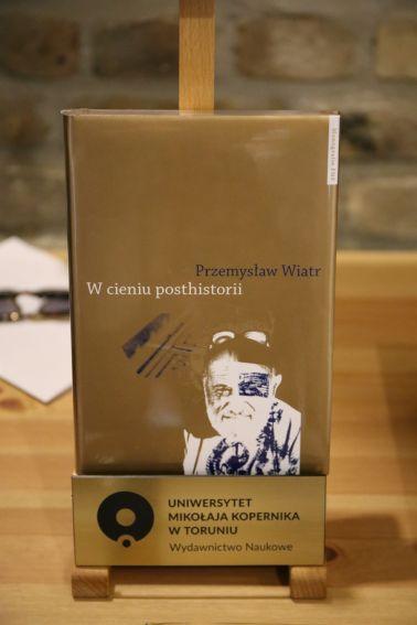 Wieczór autorski z dr. Przemysławem Wiatrem