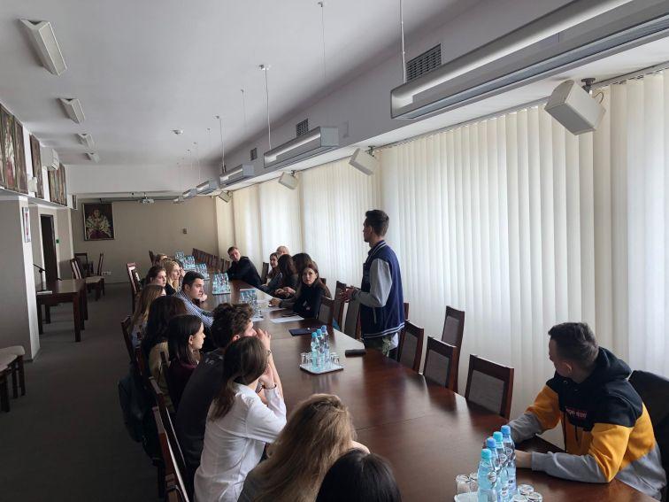 Зустріч Талантів з проректор Уршульою Бобрик