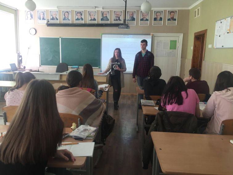Амбасадори UMCS в Рівному та Луцьку
