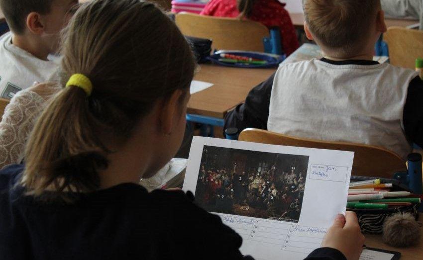 Uczniowie SP 38 poznają Unię Lubelską