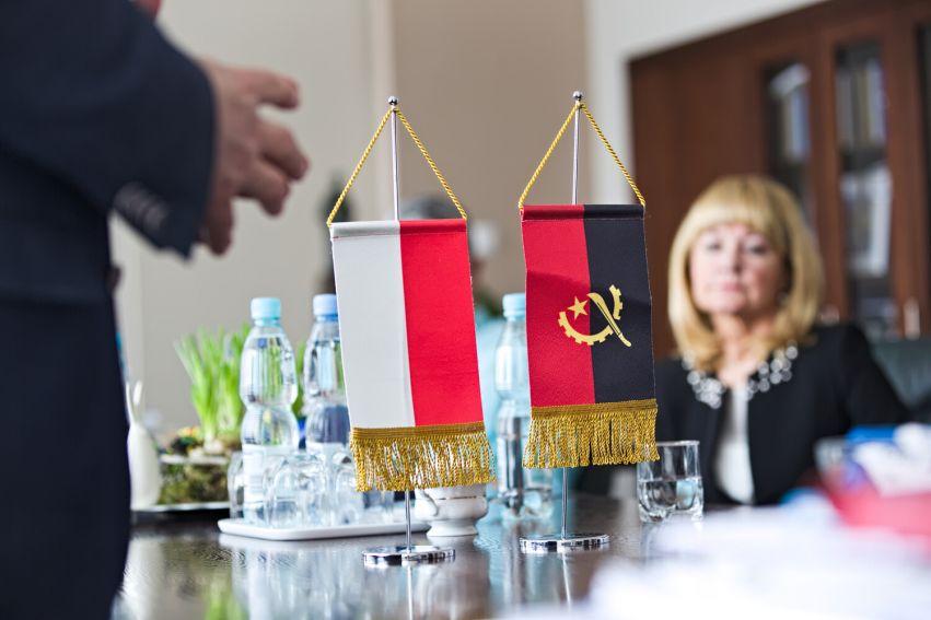Spotkanie JM z Ambasadorem Angoli