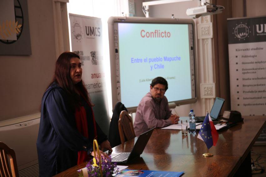 """Wykład """"Konflikt ludu Mapuche z państwem w Chile"""""""