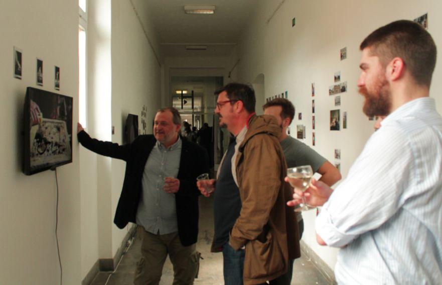 Wernisaż wystawy w Zagrzebiu