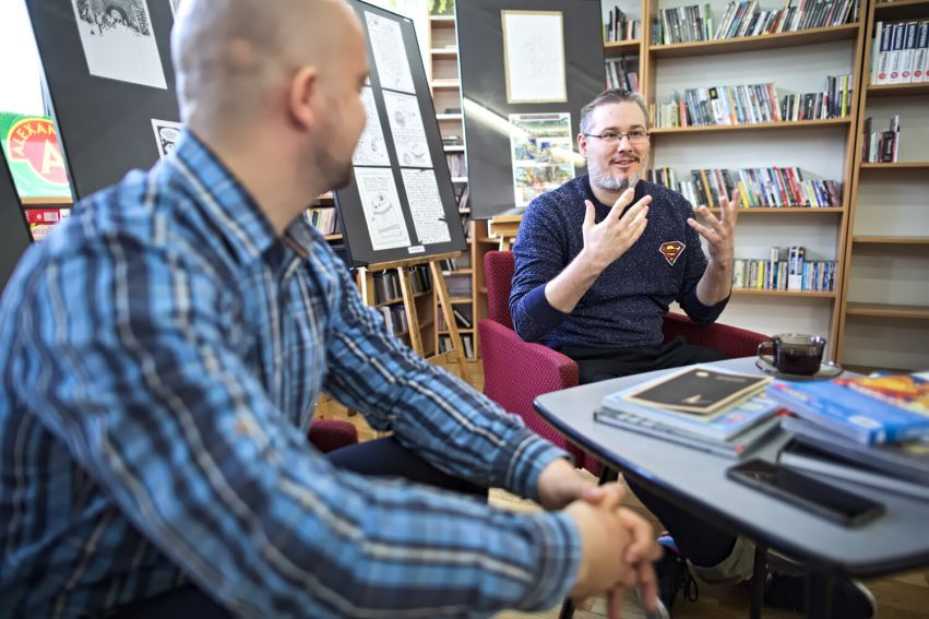 Dzień komiksu w Bibliotece Głównej UMCS