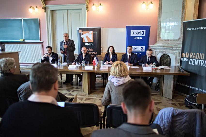 Debata kandydatów do europarlamentu