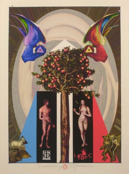 Prace z wystawy grafiki bułgarskiej