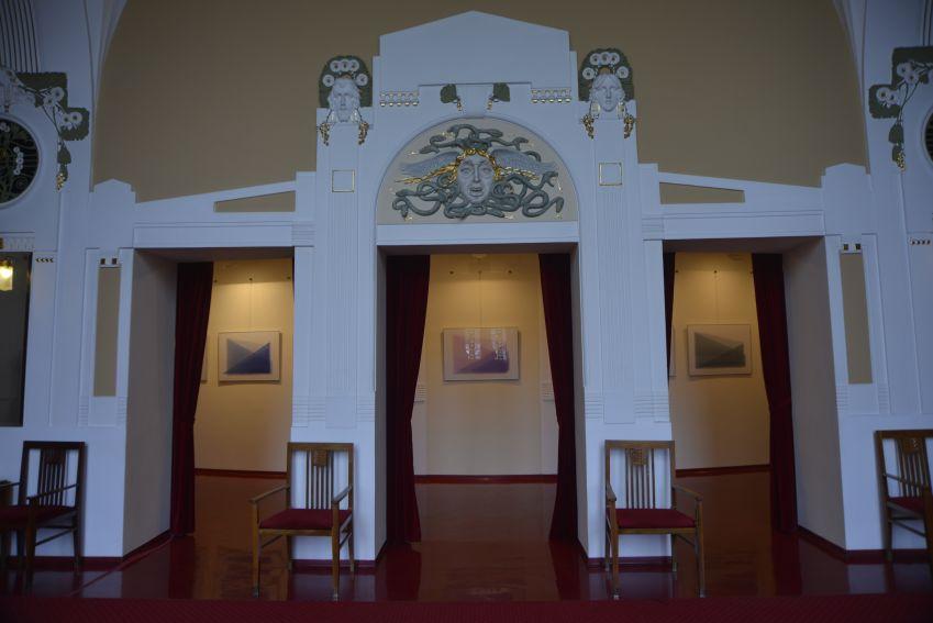 "prof. Krzysztof Bartnik ""Akvarely"",galeria-foyer..."