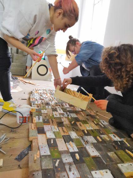 podwórkowe narracje Studentów Wydziału Artystycznego