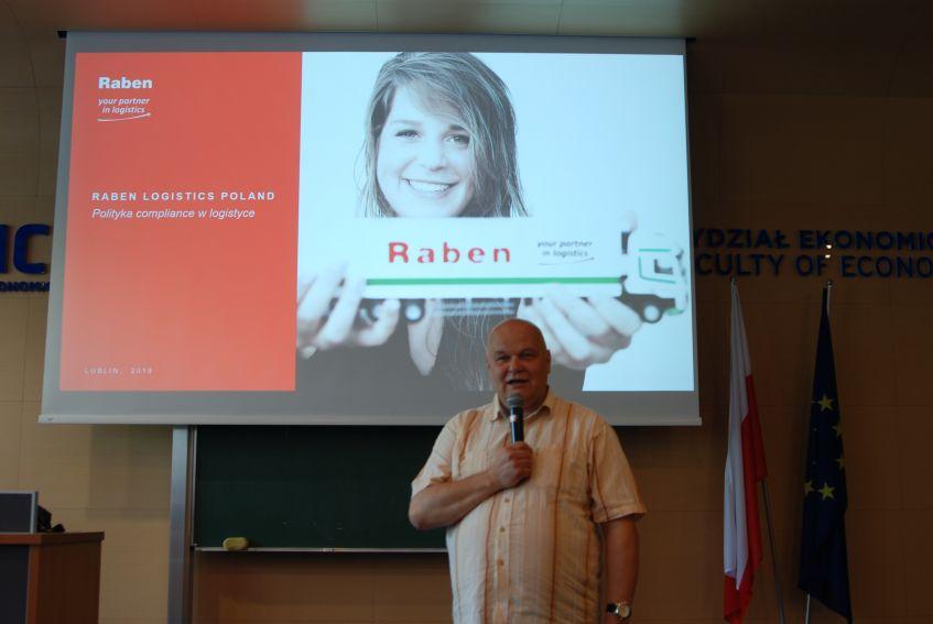 Spotkanie z przedstawicielami firmy Raben Polska