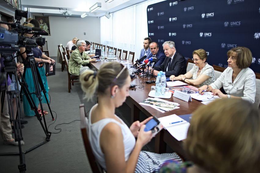 Konferencja prasowa - Kampus Zachodni
