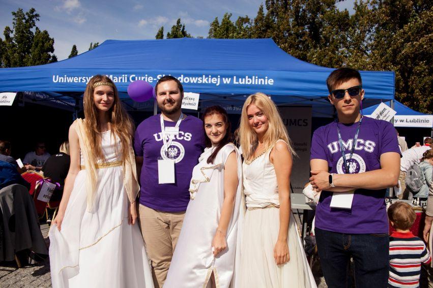 Festiwal Nauki 2019 - projekty WFiS