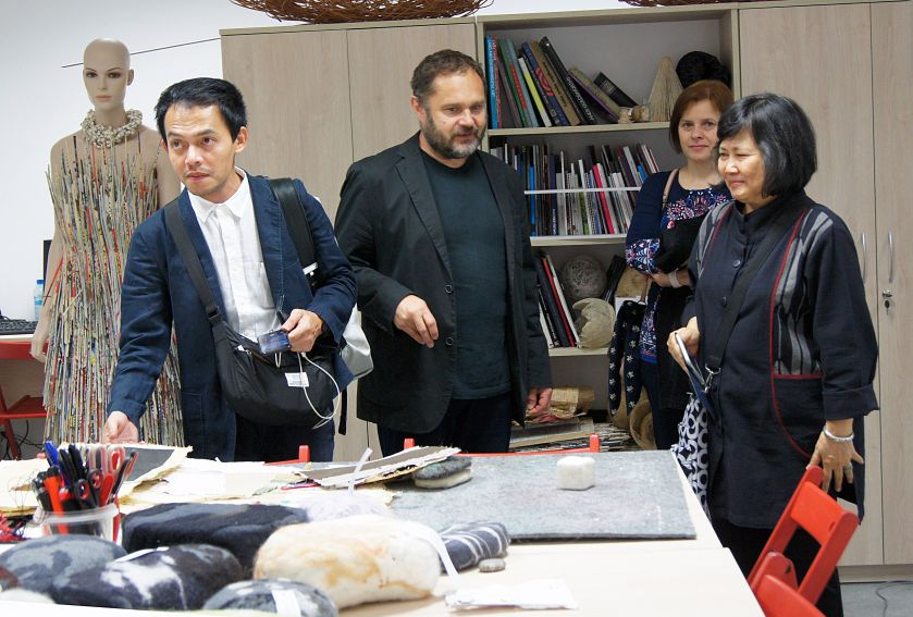 Thai artists visit our University