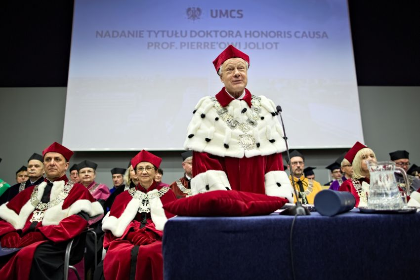 Doktorat honoris causa UMCS dla prof. Pierre'a Joliot