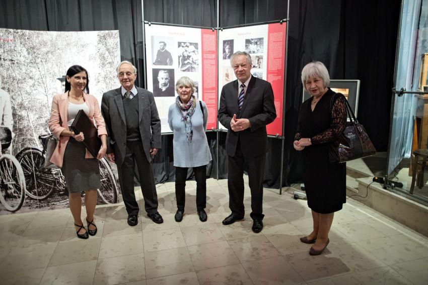 """Otwarcie wystawy """"Maria Skłodowska-Curie i jej rodzina"""""""
