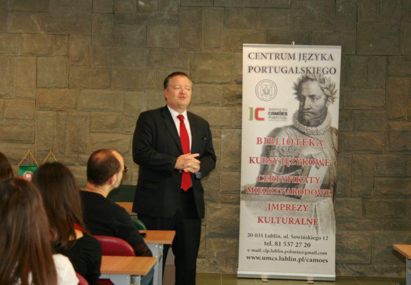 JE Ambasador Portugalii w Polsce Luís Manuel Ribeiro...