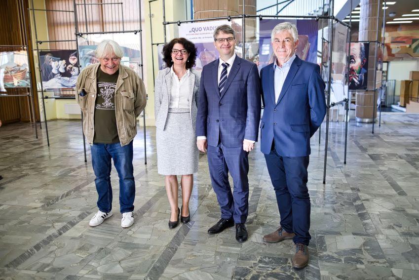 """Wystawa prac Sławomira Łuczyńskiego pt. """"Quo..."""