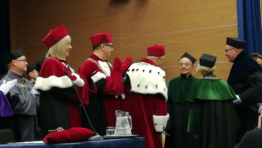 Doktorat Honoris Causa UMCS dla Pierre'a Joliot